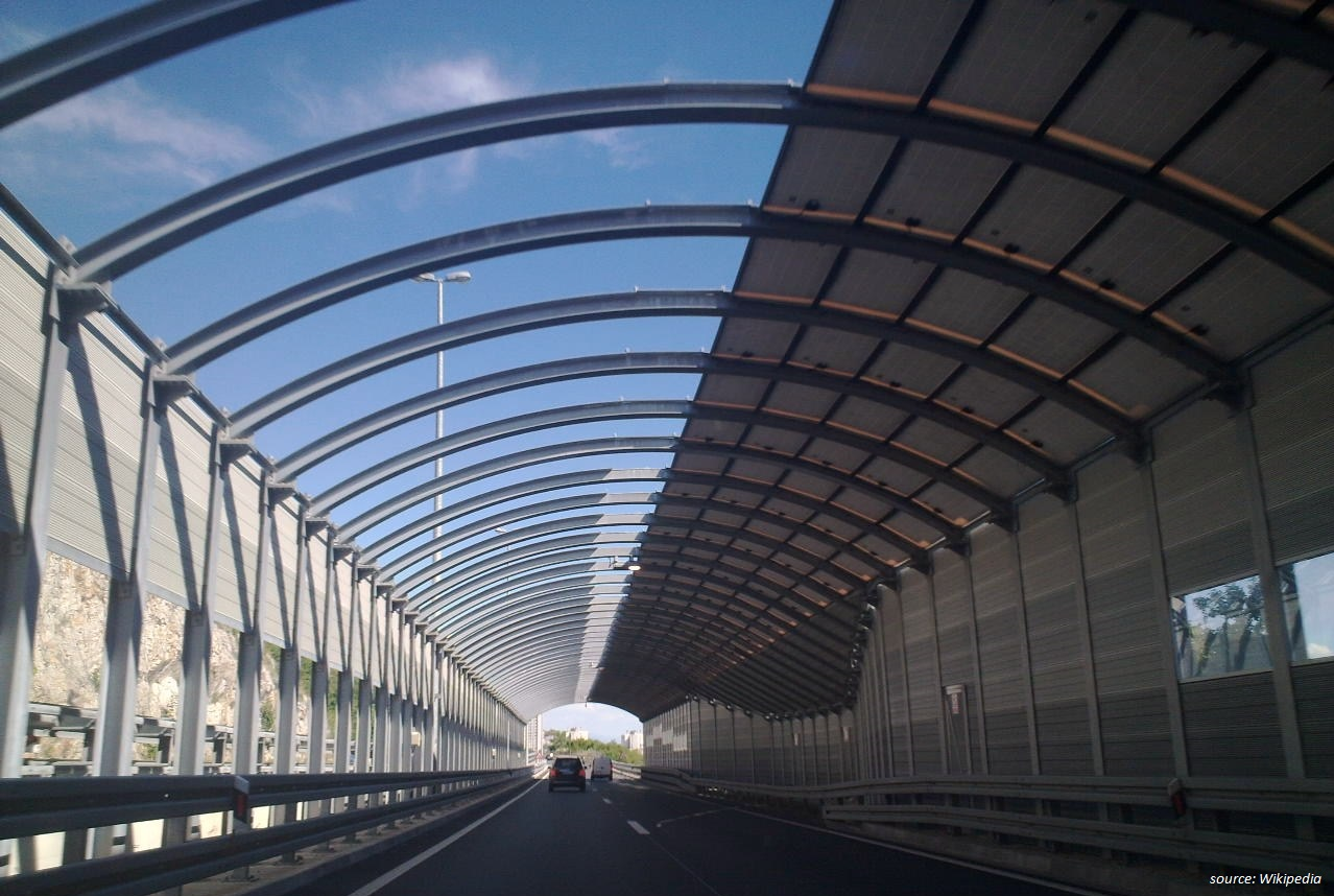 Noise Protection On The Rijeka Bypass