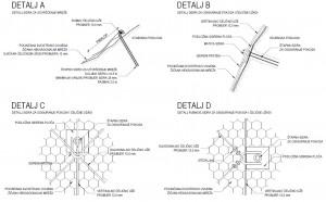 zaštita od odrona - geotehnički presjek