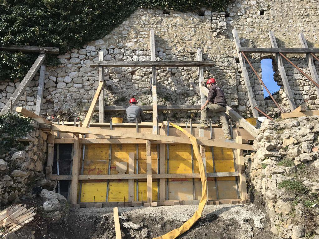 Rekonstrukcija gradskog bedema Krk - Geotech