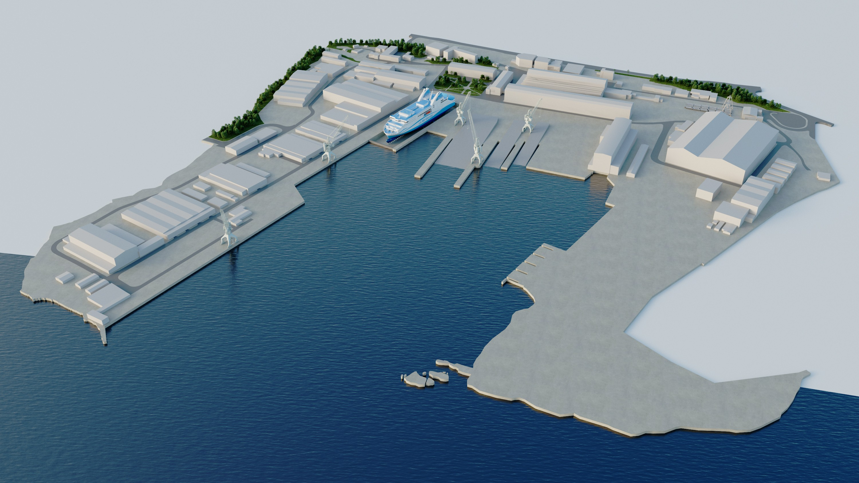 EXPLORATION WORKS FOR A DRY DOCK IN BRODOSPLIT