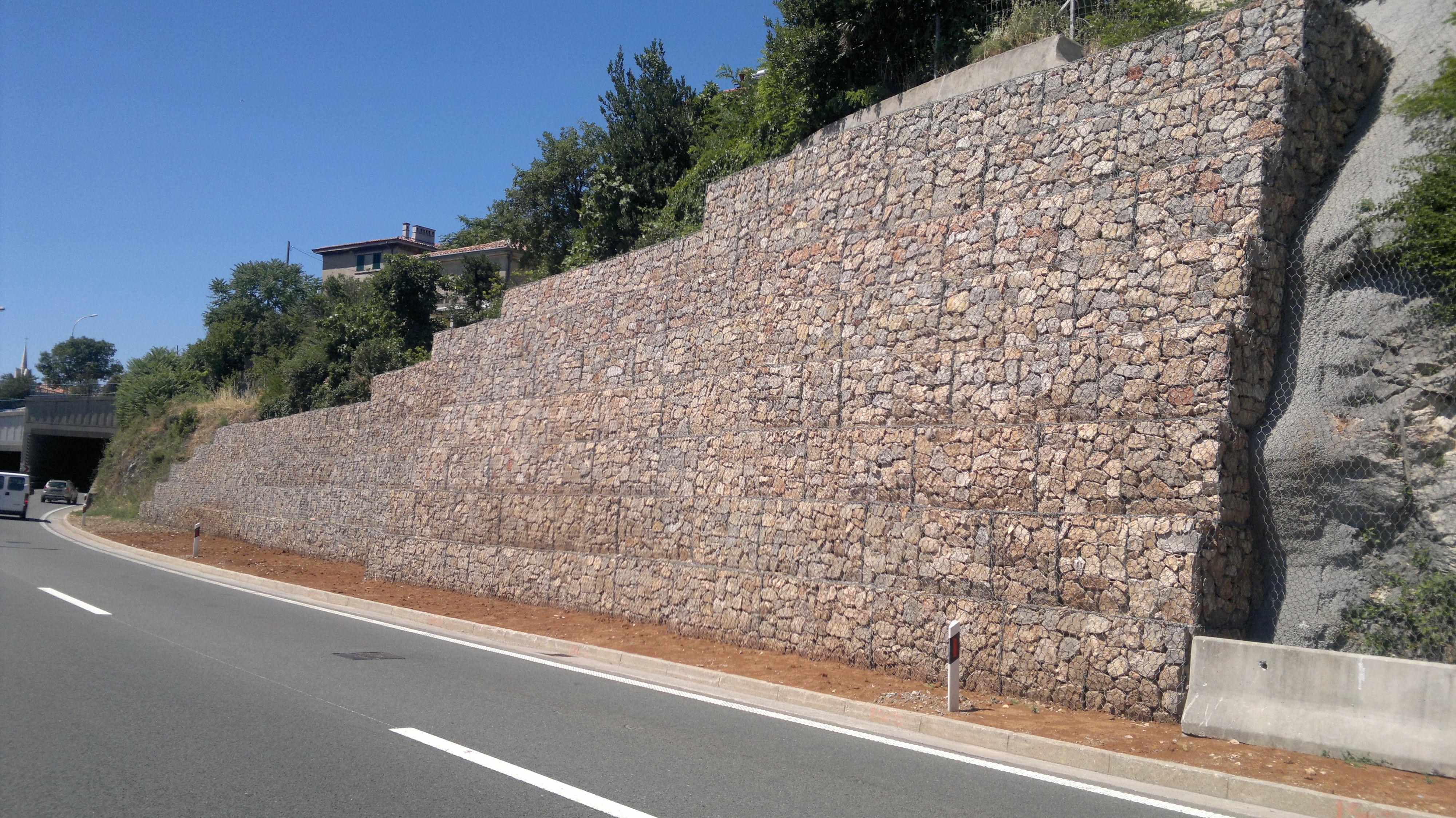 Gabion walls - function, application, advantage | Geotech