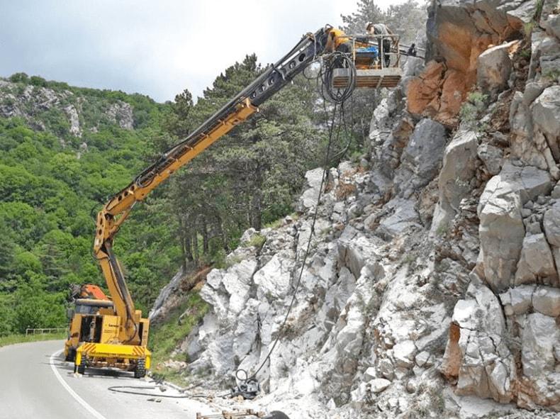 Zaštita stijenskog pokosa