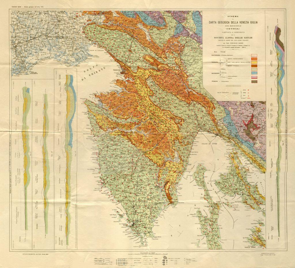 geološka građa istre
