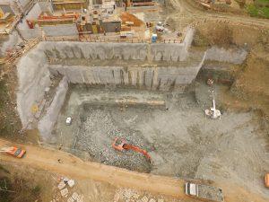 osigfuranje građevne jame