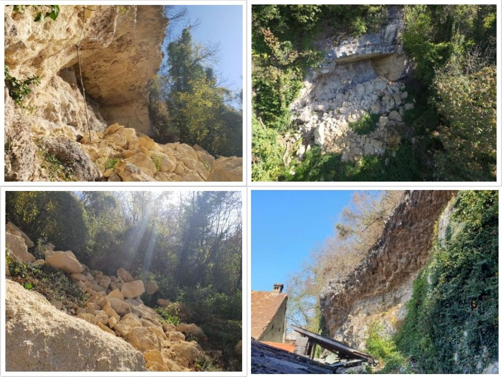 nestabilnost stijenske mase