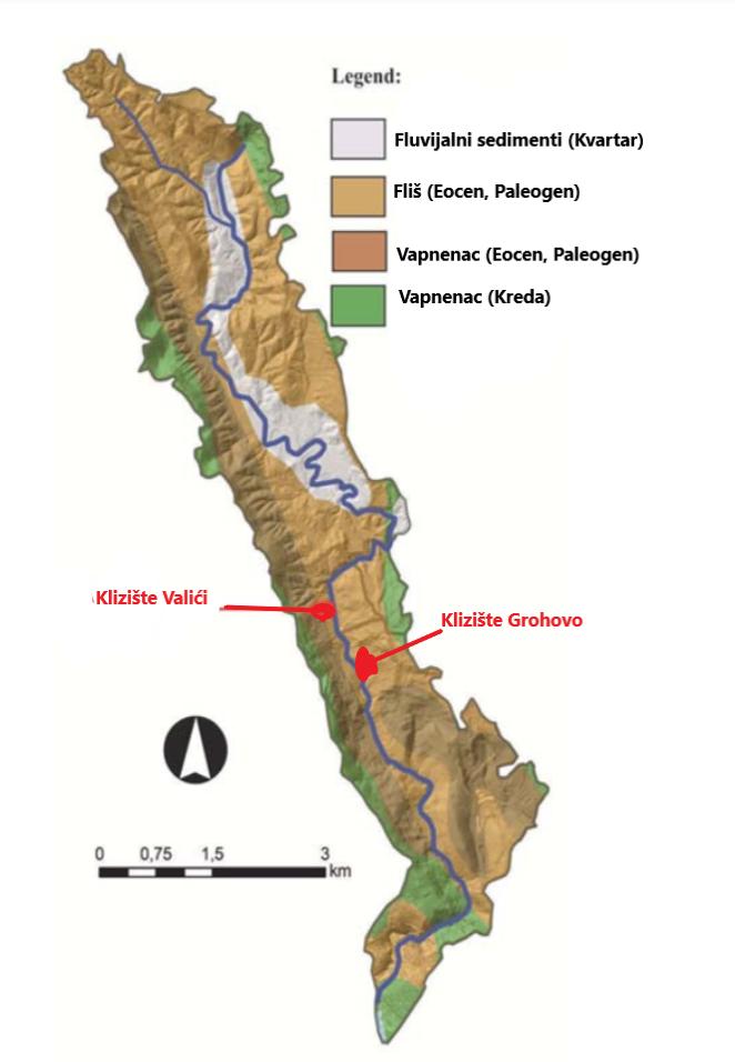 geoloski hazardi u dolini rječine