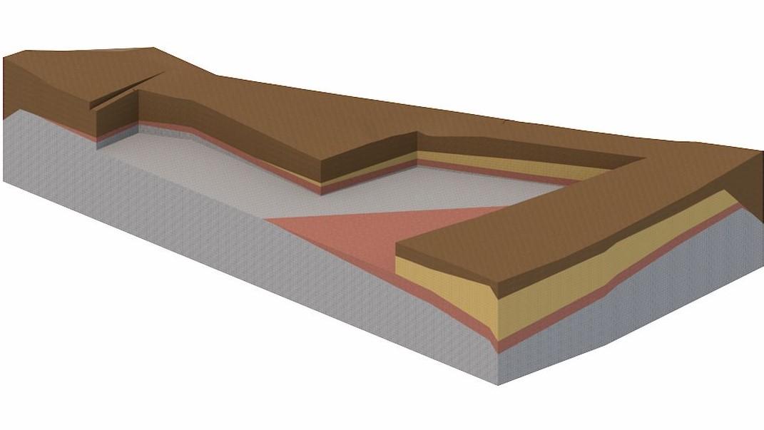 geološki 3d model