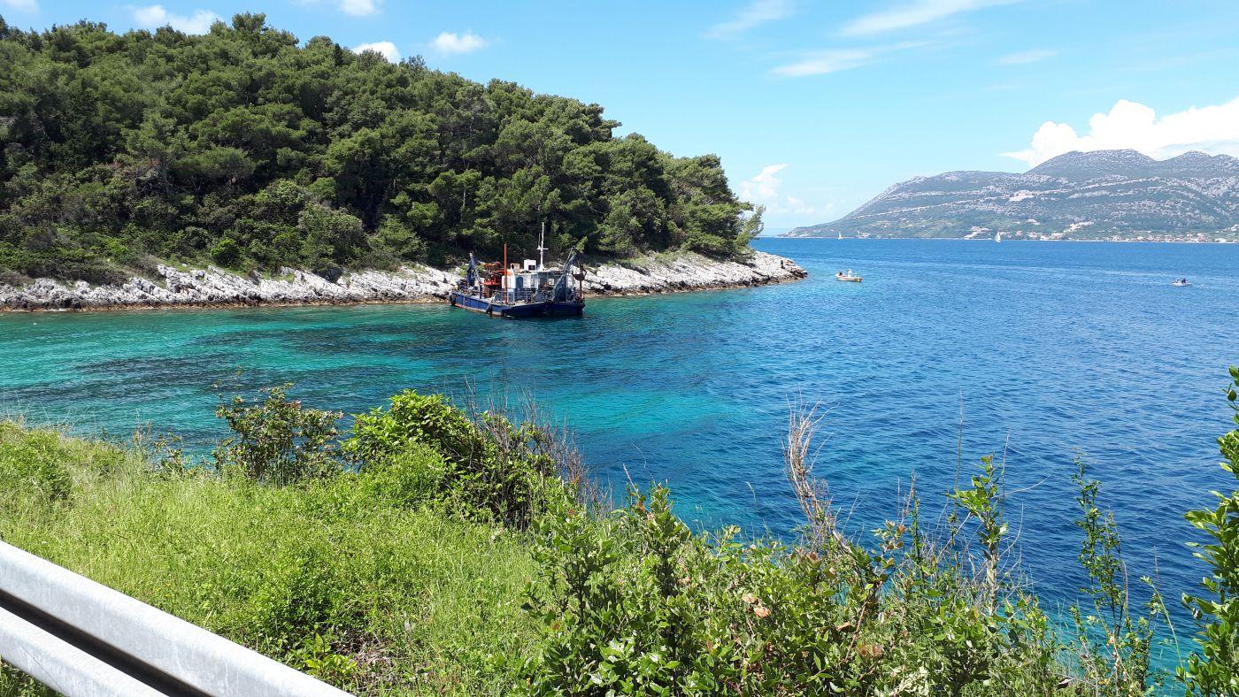 geotehnički i inženjerskogeološki istražni radovi - luka Korčula