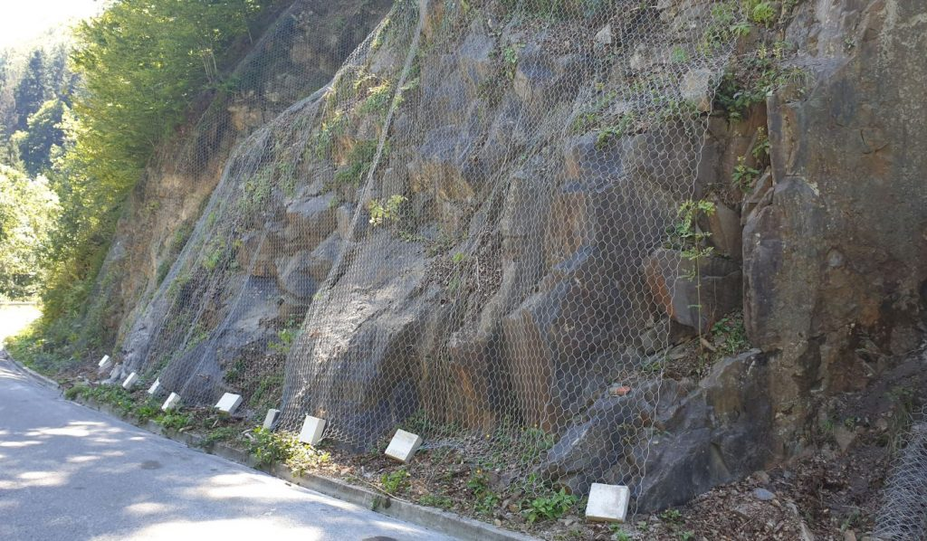 rock slope remediation
