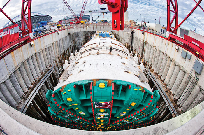 tunnel boring machines - Bertha