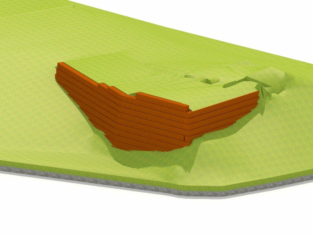 potporna konstrukcija 3d model