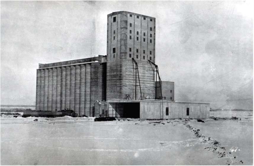 transcona grain elevator nakon završene gradnje