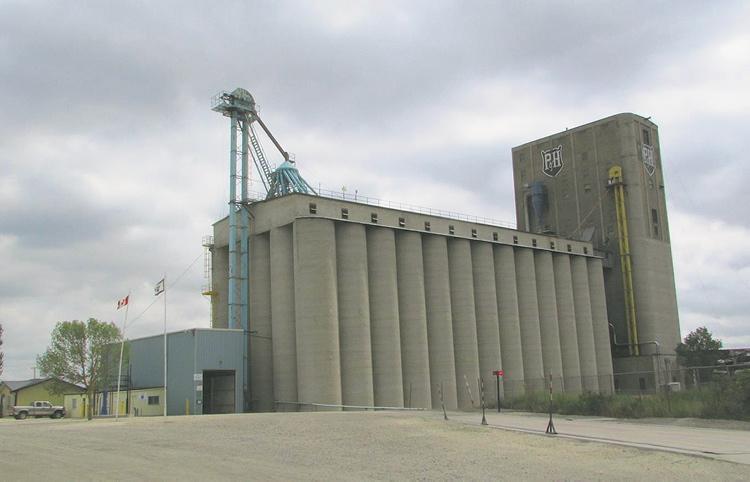 parrish and heimbacker grain elevator